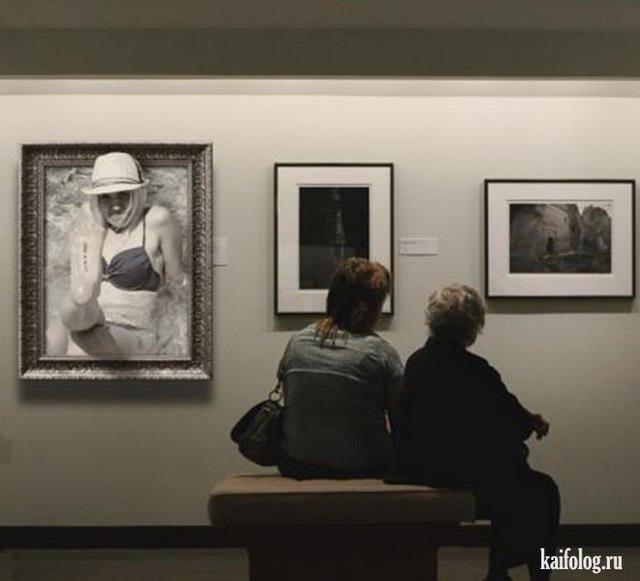 Прикольный фотомонтаж (70 фотожаб)