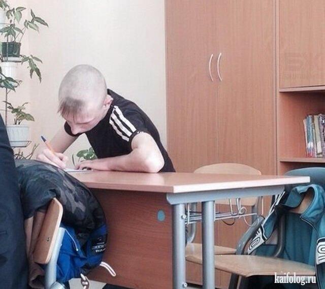 Странные одноклассники (40 фото)