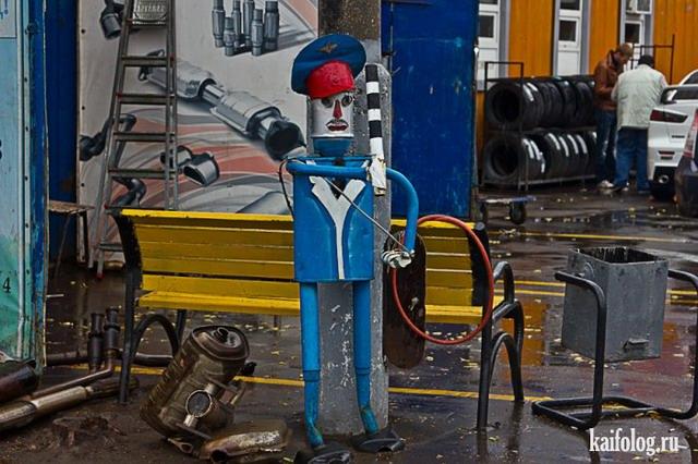 Восстание машин в России (35 фото)