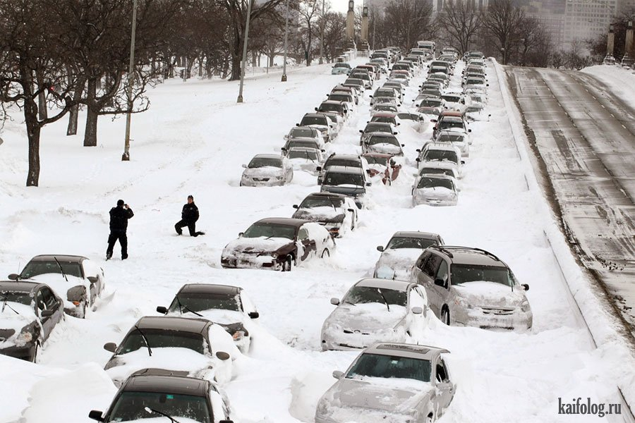 картинки смешные зимние пробки этой