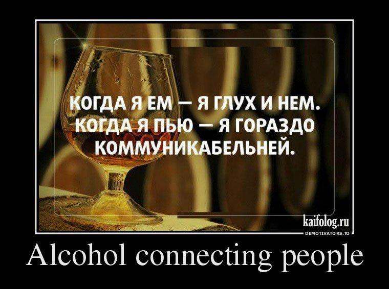 демотиватор алкоголь и душа такие