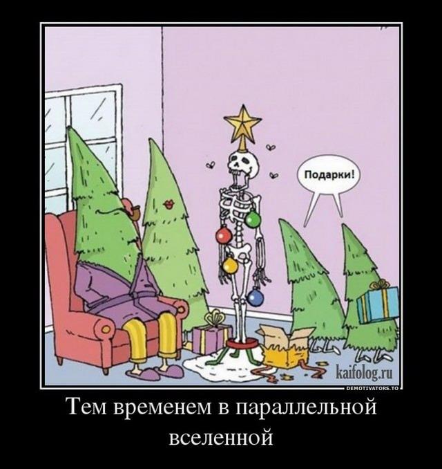 Демотиваторы про Новый Год (60 демотиваторов)