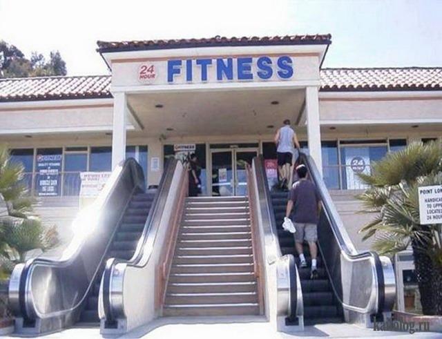 Пора худеть или приколы про фитнес (45 фото)