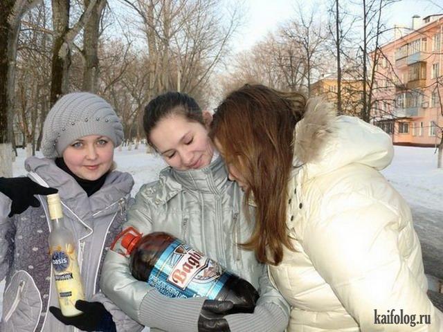Новогодние одноклассники (35 фото)