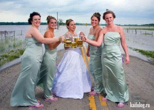 Веселые невесты (45 фото)