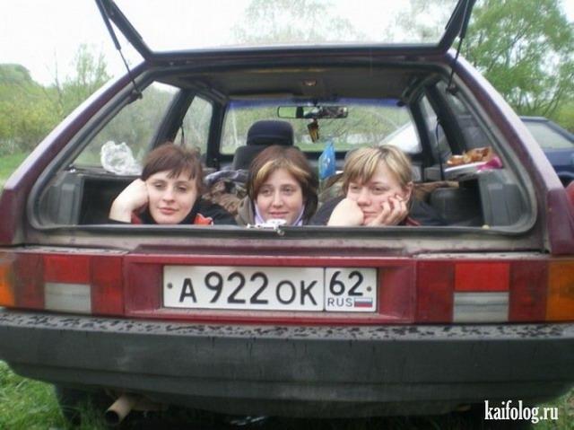 Смешные фото девушек (35 фото)