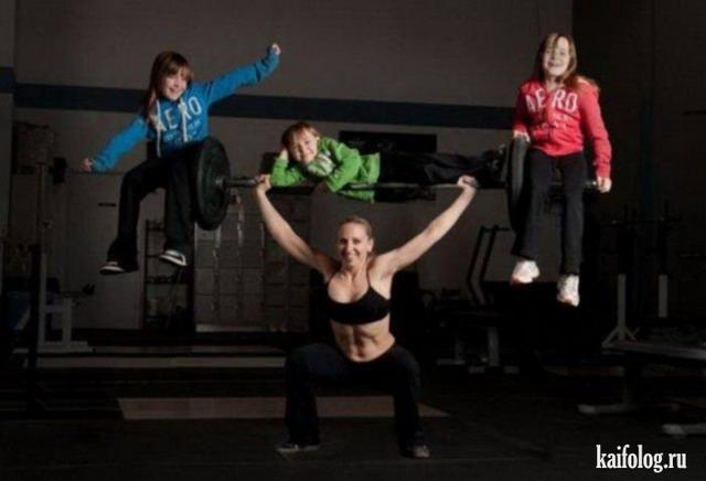 Прикольные спортсменки (60 фото)