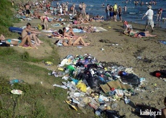 Русские пляжи (45 фото)