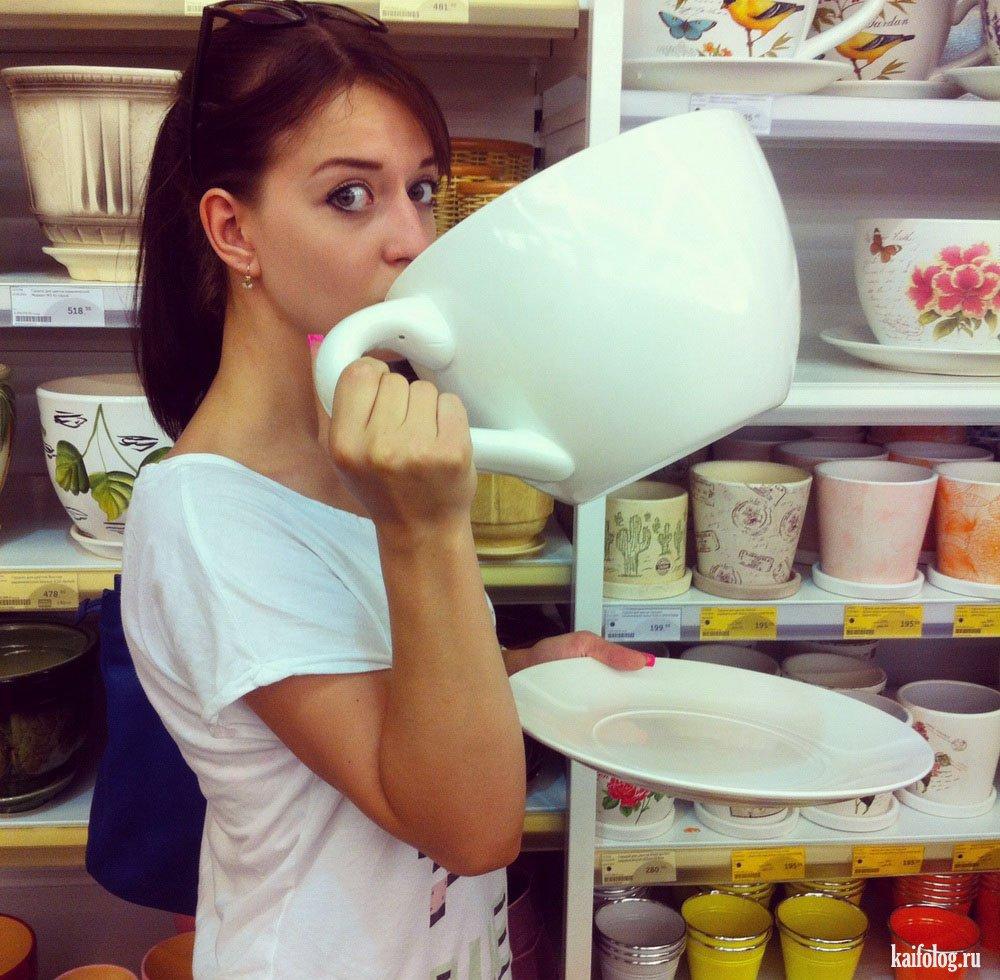 Фото приколы с чаем