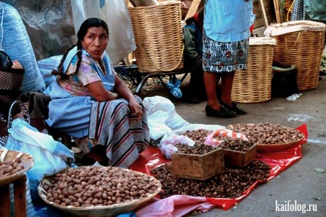 Уличные торговцы из разных стран (50 фото)