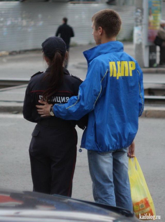 Русская полиция (50 фото + видео)