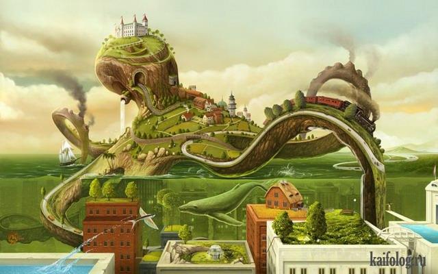 Классные иллюстрации (40 картин)