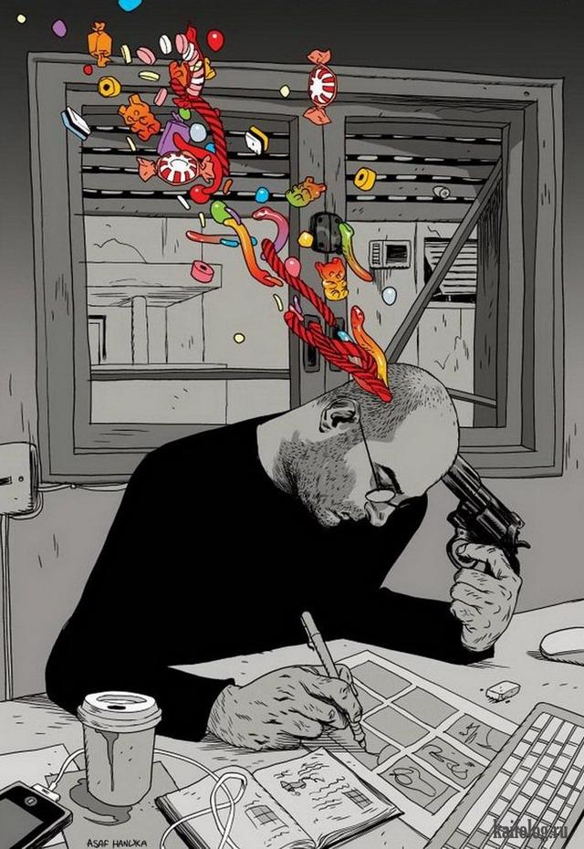 Asaf Hanuka (45 картинок)