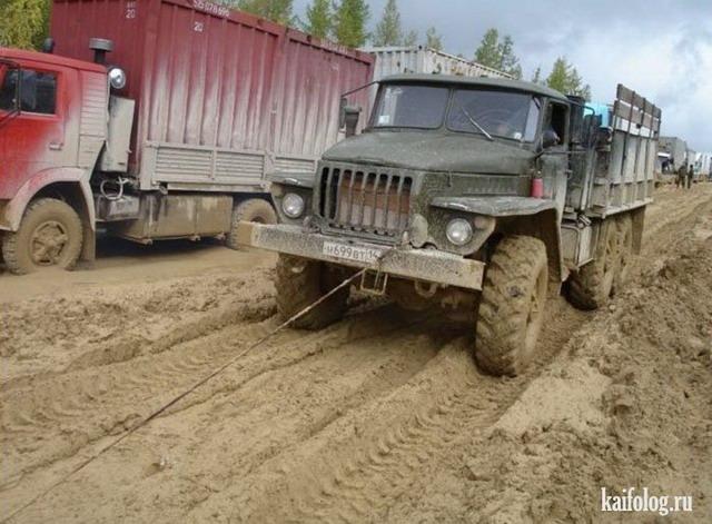 Суровые русские дороги (50 фото)
