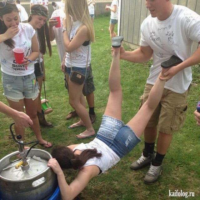 фото отвязных девчонок на вечеринках