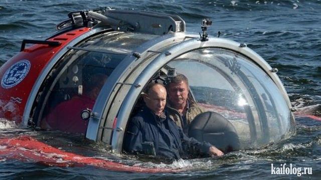 Русские политики на отдыхе (60 фото)