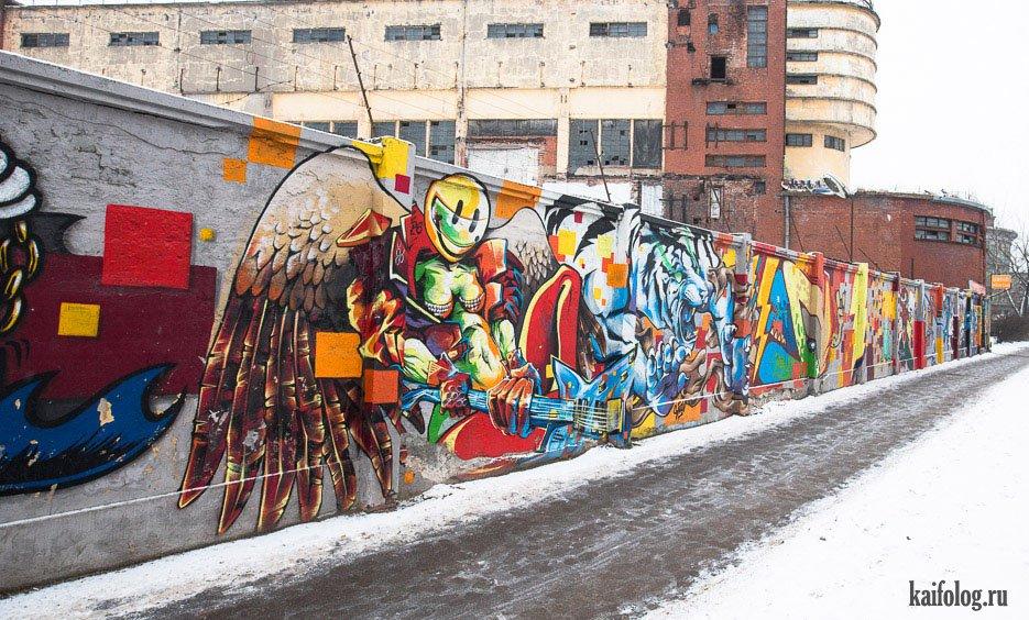 откровенность, фотография граффити для фоток санкт петербург подчеркнул