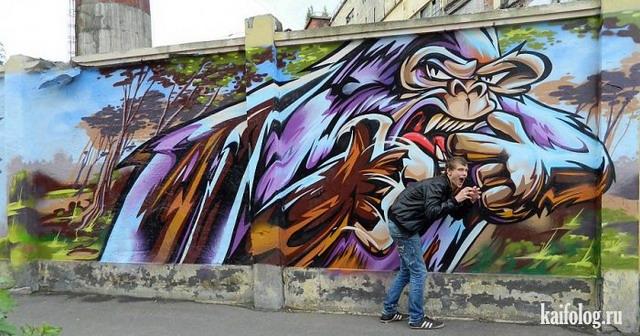 Граффити Санкт-Петербурга (55 фото)