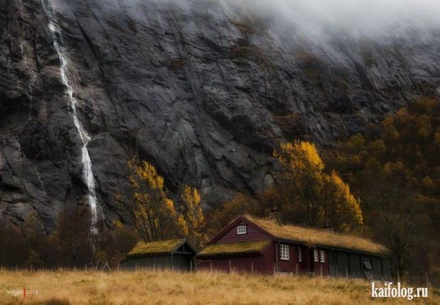 Самые красивые водопады (55 фото)