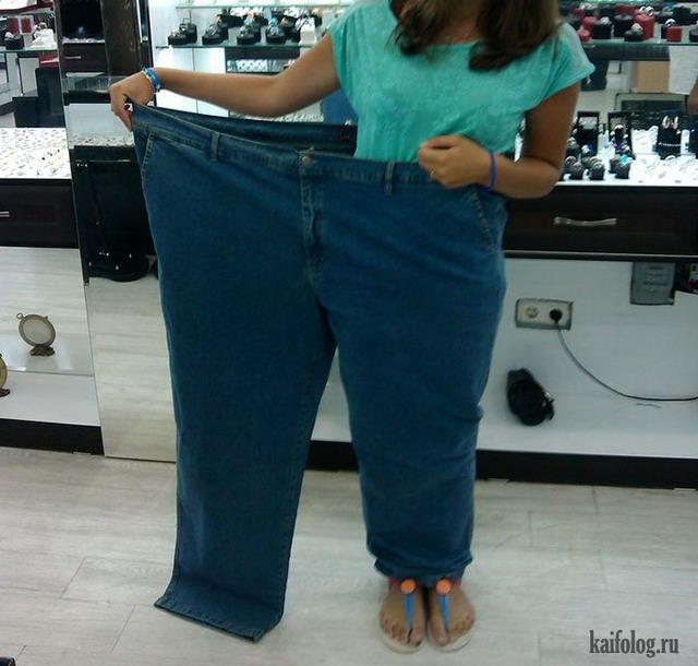 Прикольные джинсы (50 фото)