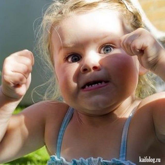 Капризные дети (35 фото + видео)