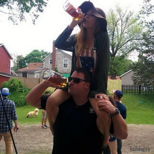 Приколы про пьяных (55 фото)