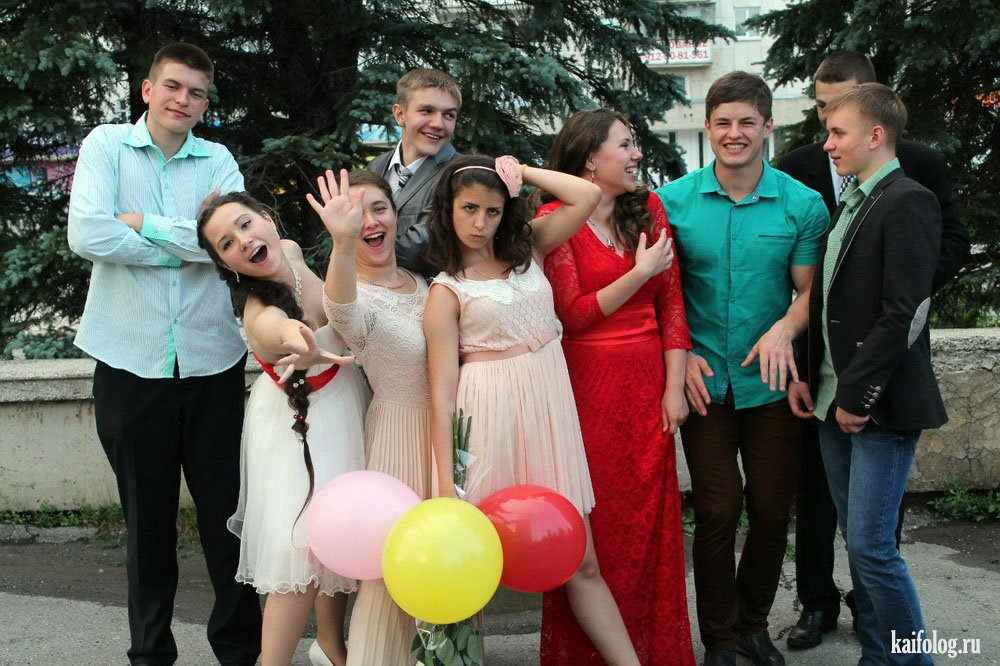 прикольные фото выпускниц 2015