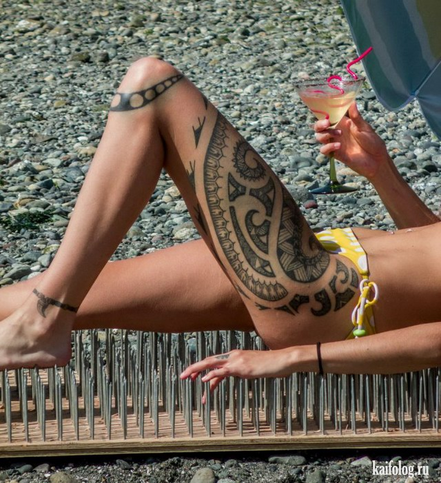 Татуированные девушки (40 фото)
