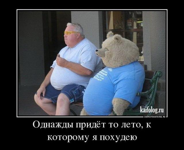 Демотиватор Похудеть К Лету.