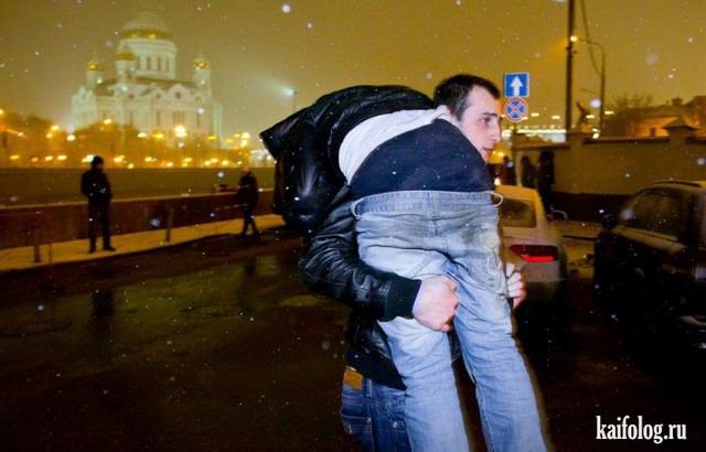Ночная жизнь Москвы от Никиты Шохова (30 фото)