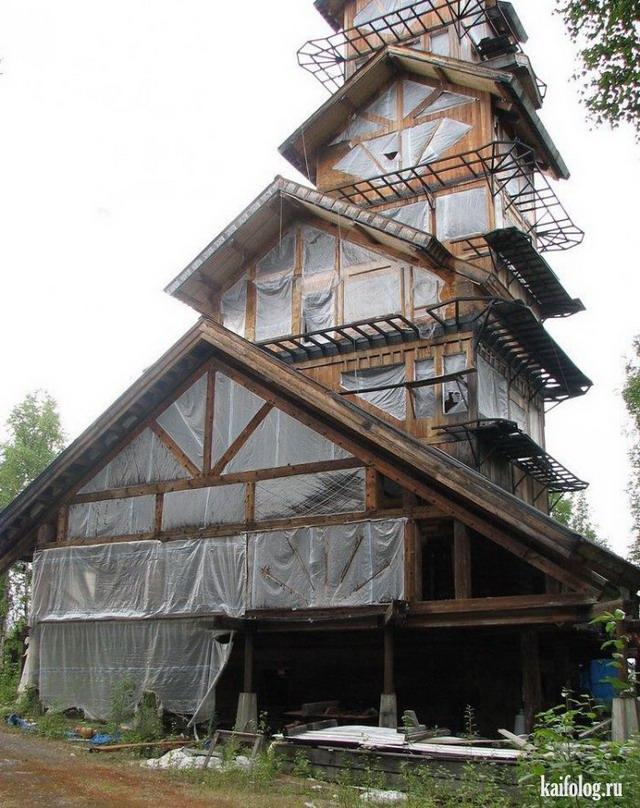 Необычные дома (40 фото)