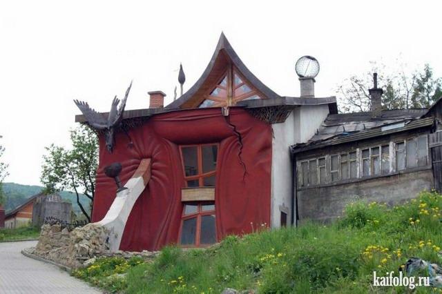 Креативные дома (40 фото)