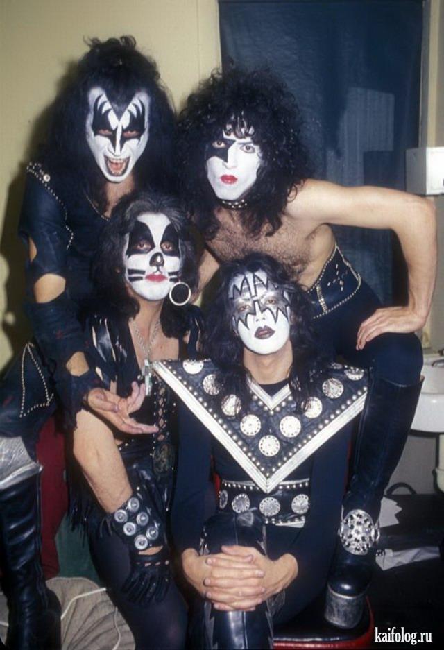 Ретро фото рок-звезд и знаменитостей (45 фото)