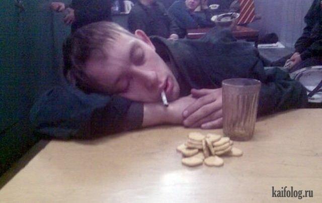 Пьяные люди (45 фото + видео)