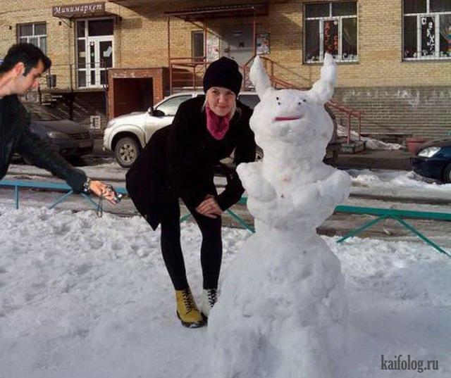 Фотожабы на Svetlay (зимний креатив, 12 работ)