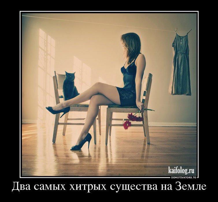 Демотиваторы в картинках про девушек