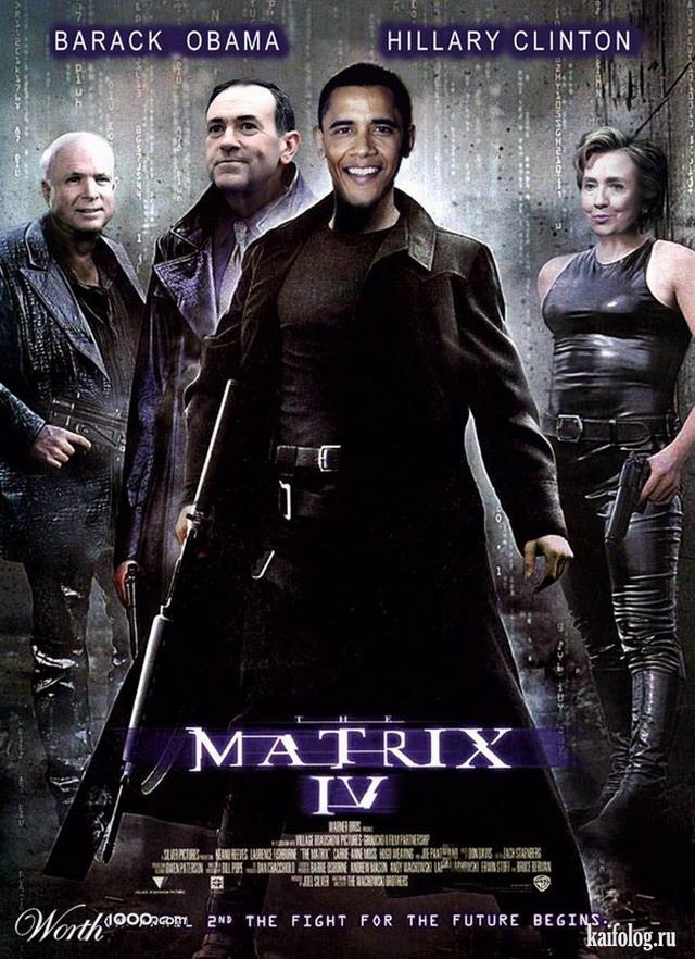 Путин, Обама и Меркель (20 картинок)