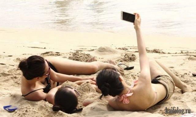 И снова фото приколы про девушек (35 фото)