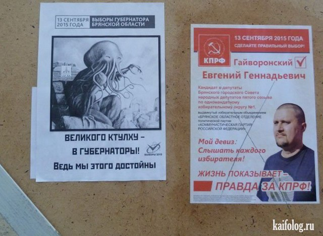 Выборы 2015 (30 фото + 3 видео)