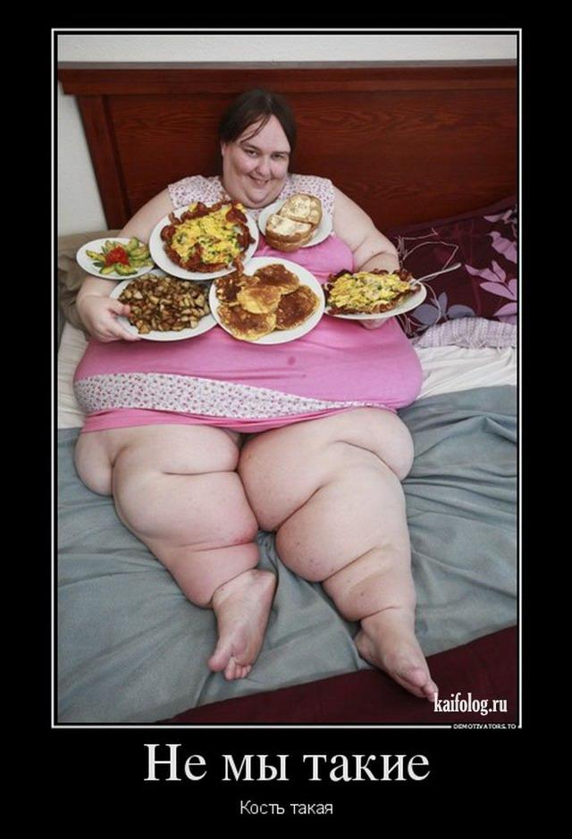фото приколы демотиваторы про толстых можно включив отображение
