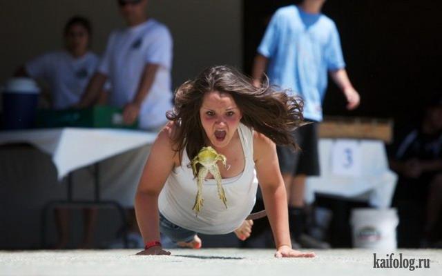 Прикольные виды спорта (35 фото)