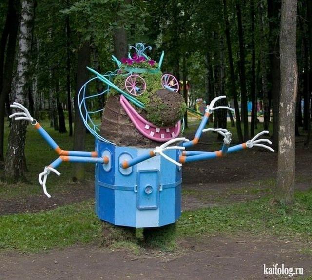 Русское уличное искусство (45 фото)
