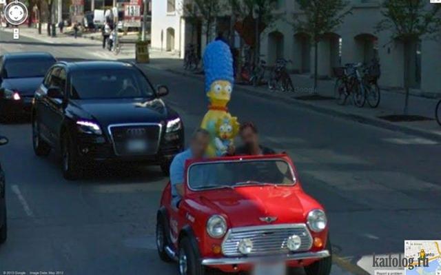 Google Street View (40 фото)