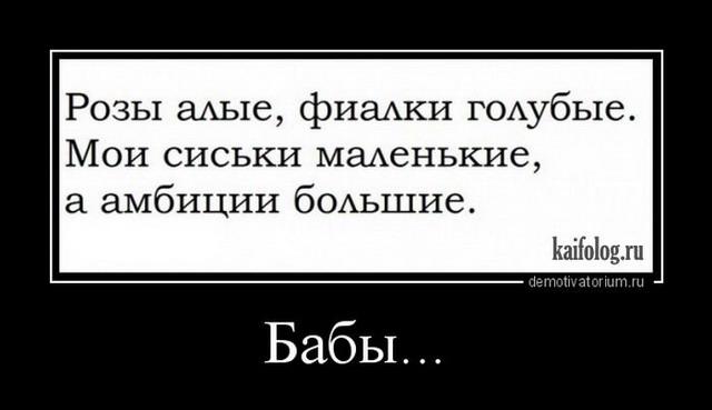 Демотиваторы - 287 (40 демок)