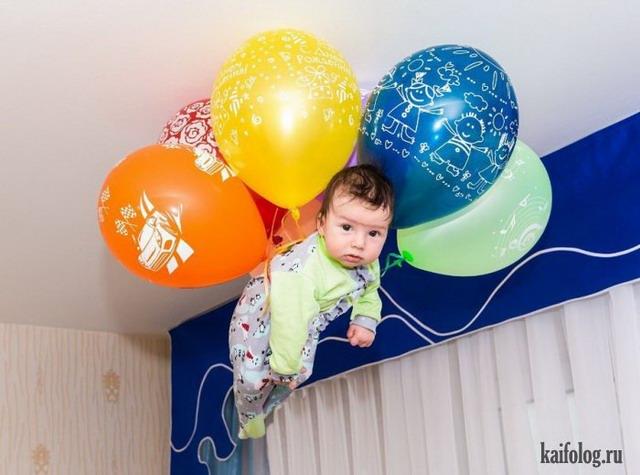 Воздушные шарики (45 фото)