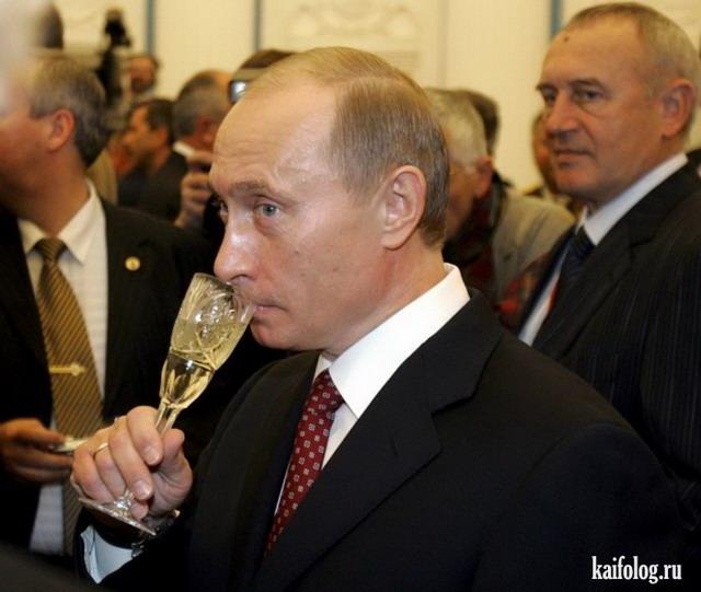 День рождения Путина (40 фото)