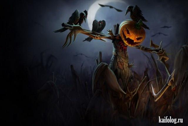 Хэллоуин (45 картинок)