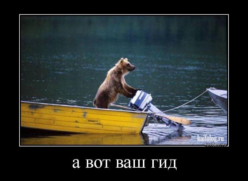 русские на медведях демотиватор край имеет множество