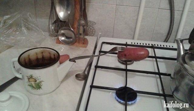 Приколы про еду по-русски (55 фото)