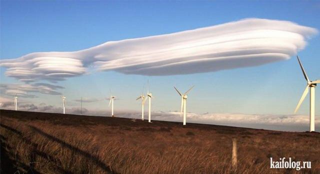 Необычные облака и тучи (40 фото)